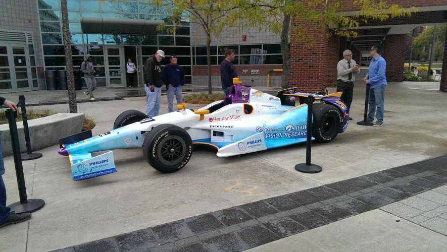 WIVR Race Car piloted by Buddy Lazier